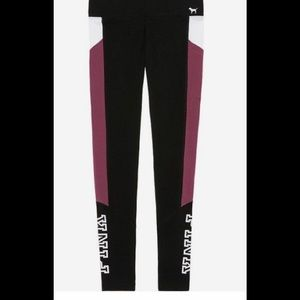 victoria secret pink pocket yoga leggings